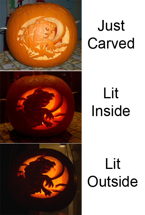 Pumpkin Carving 2009