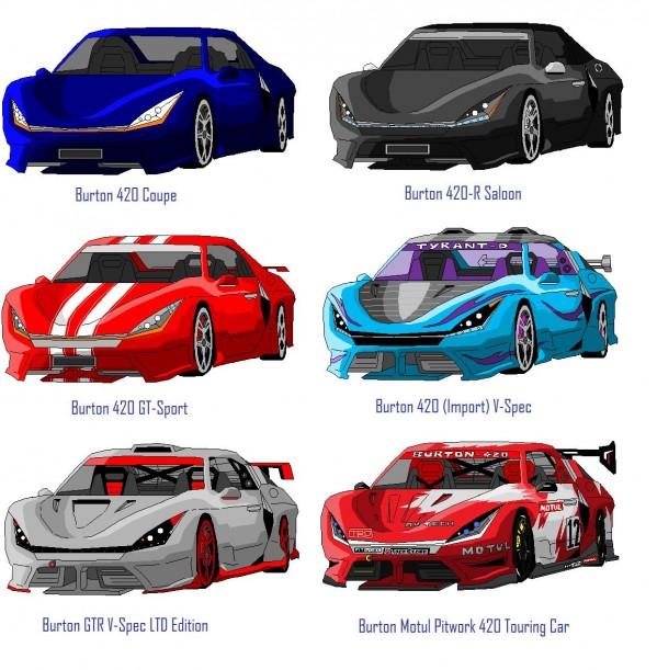 car designs ms paint burton 420
