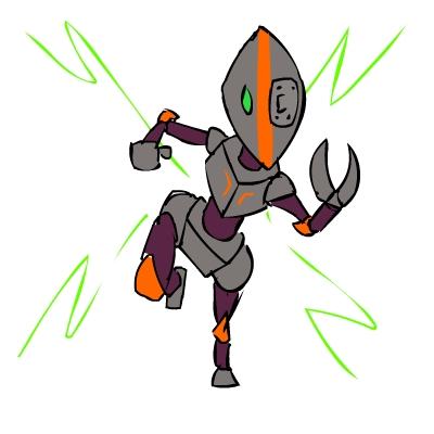 Scow #2 - Robot!