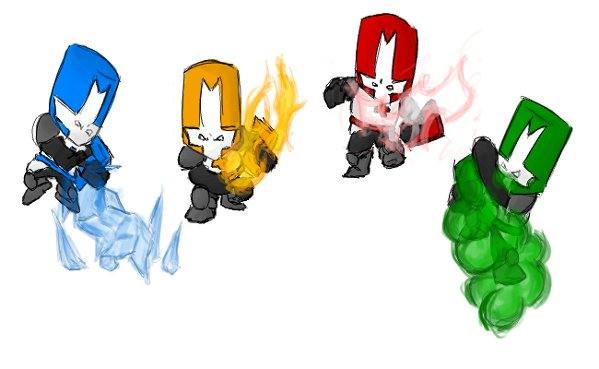 Castle Crashers Fan Art.