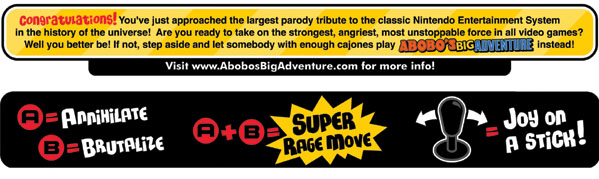 Abobo's Big Adventure Arcade Build