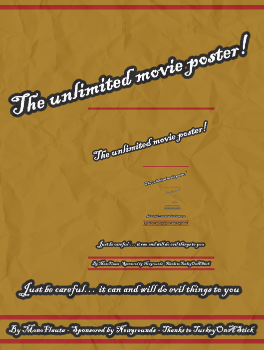 [art] B-movie Poster Art Contest