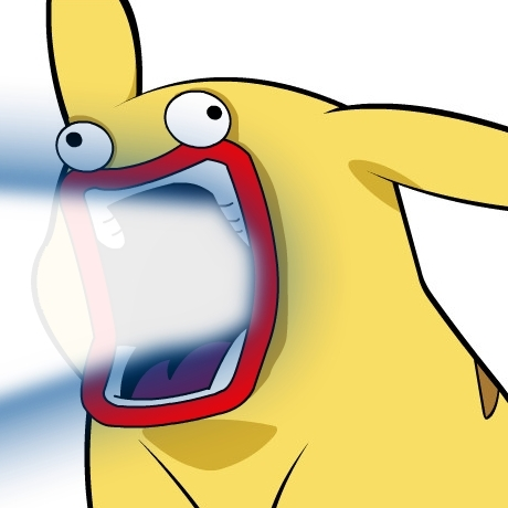 Give Pikachu a face!