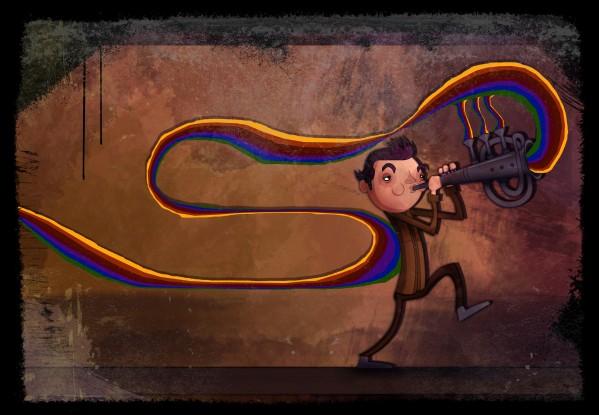 Doodoomeats Superhappyfun 2d Art