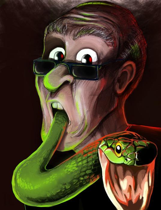 Snake For Dinner