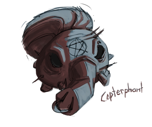 Copterphant Fan Art!