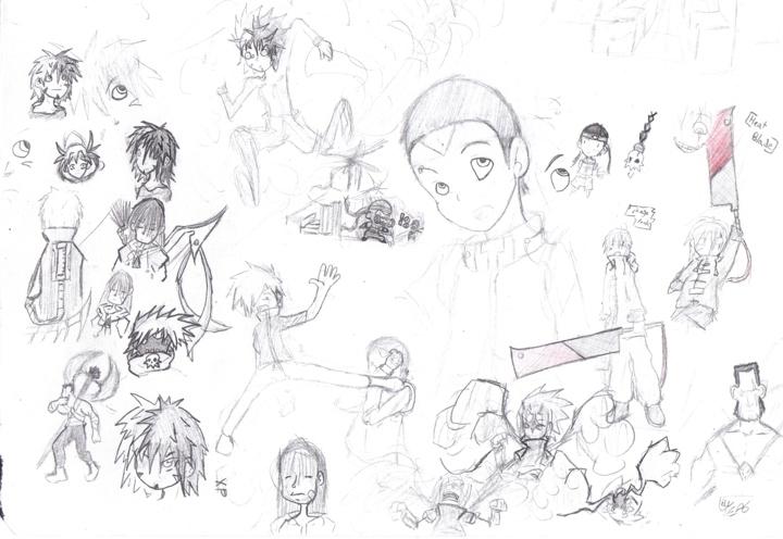 Neokirby001's art dump