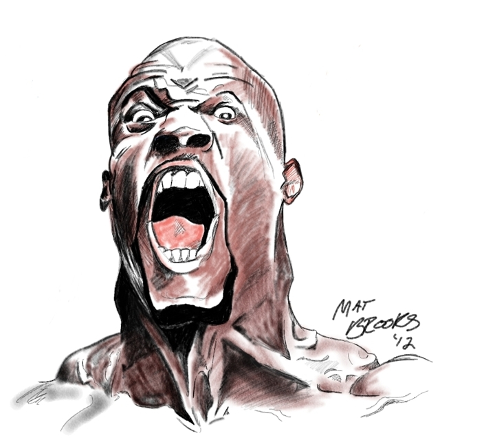 Terry Crews caricature
