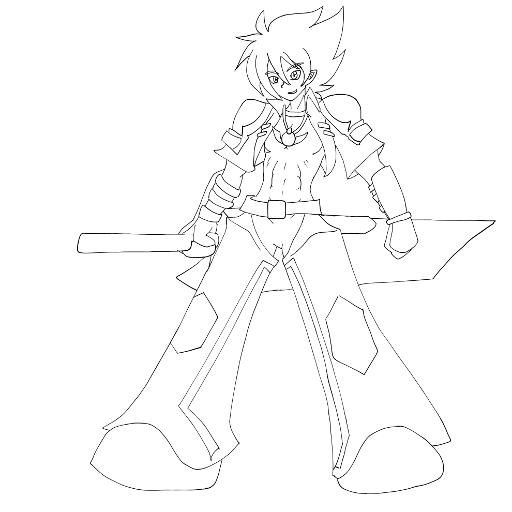 Art of Ace the Super Villain