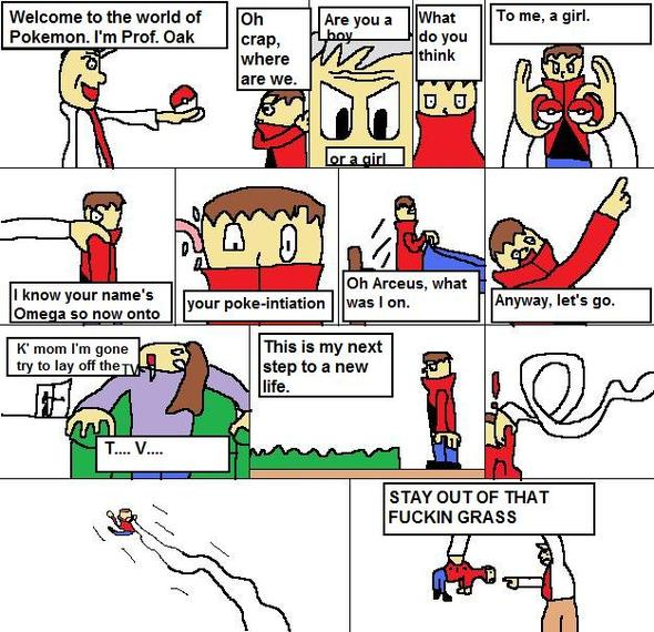 My Nuzlocke comic