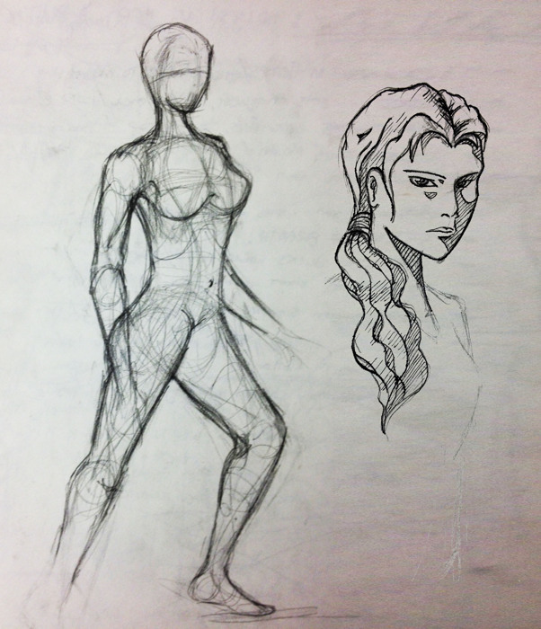 Female Character Design Help