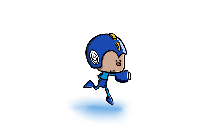 Draw your favorite Mega Man