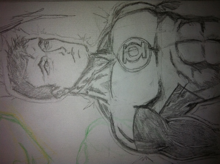 My begining art