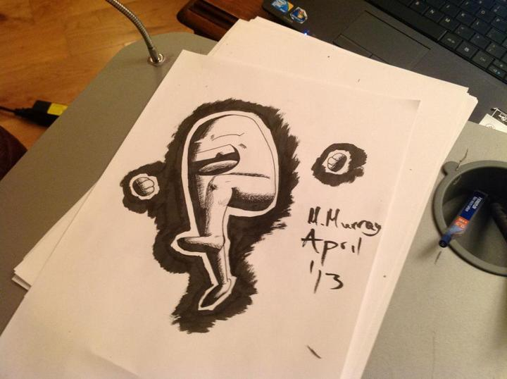 The artbook of The Micheal Murray!