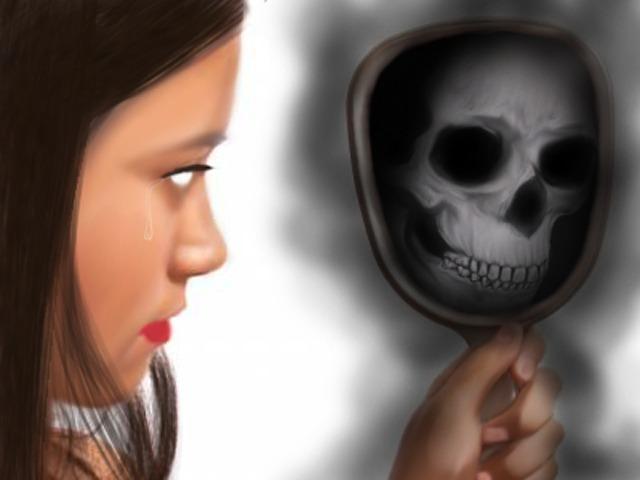 reflection of a dead soul