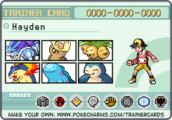 Pokemon Trainer Card Maker