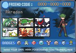 Pokemon Trainer Card Maker