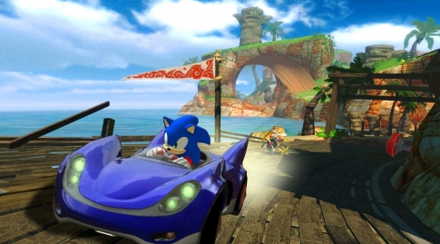 Could Sonic work in Mario kart?