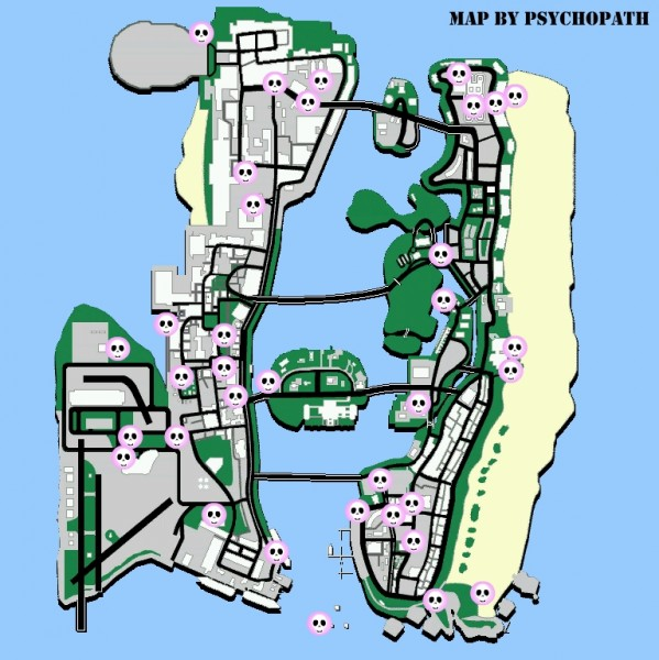 Response to Gta Vice City Rampage Map 2010-07-25 11 57 27 ReplyGta Vice City Map Of Missions