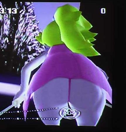Favorite video game ass