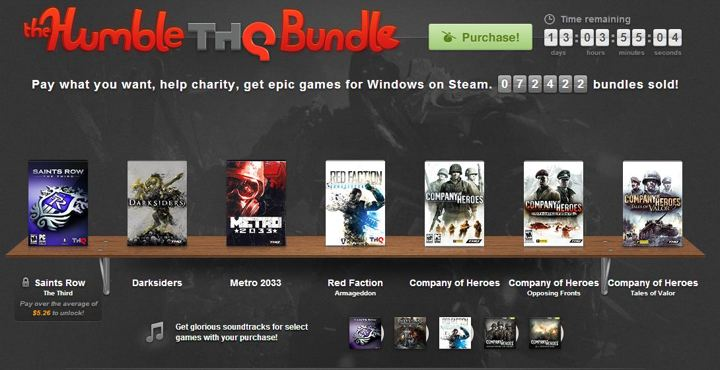 The Humble Thq Bundle Giveaway