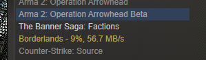 Your Average Steam Download Speed