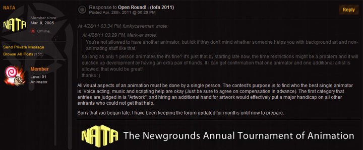 - N A T A - Novice Round!