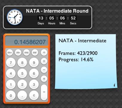 - N A T A - Intermediate Round!