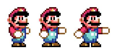 Finding Fighting Mario Sprites/help