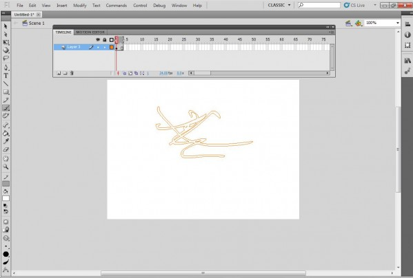 Flash Cs5 Brush/pencil Trouble