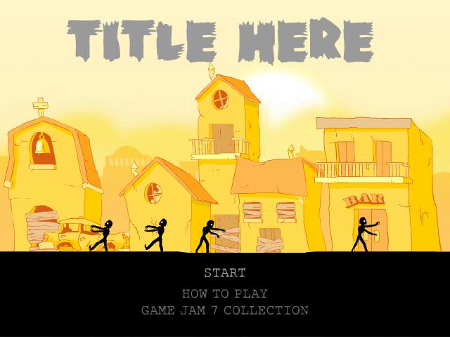 Game Jam 7: Progress