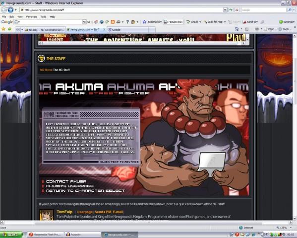 NG Screenshot archive