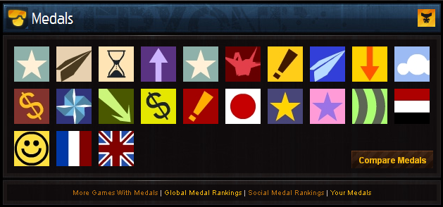 Improving the medal system!