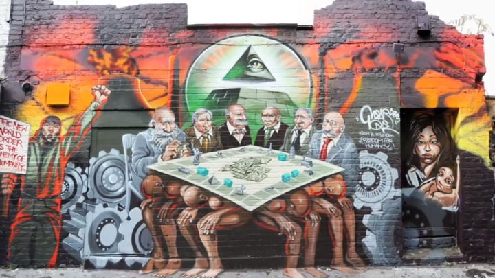 Mural in London deemed Anti Semetic