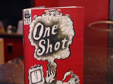One Shot Comic in Store!