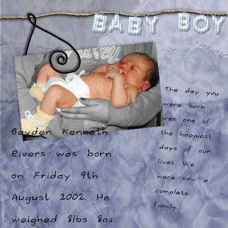 It's a Boy!