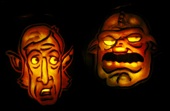Pumpkin Carving 2009 Winners