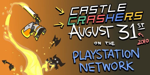 Castle Crashers PSN, Charity, Press