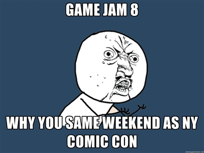 Game Jam & Art Jam NOW!