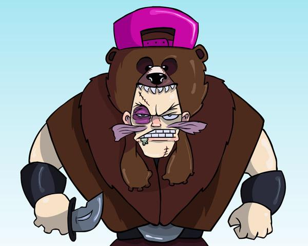 Super Rude Bear Art Winners