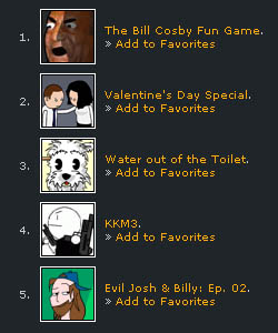 Top Five February Voting!