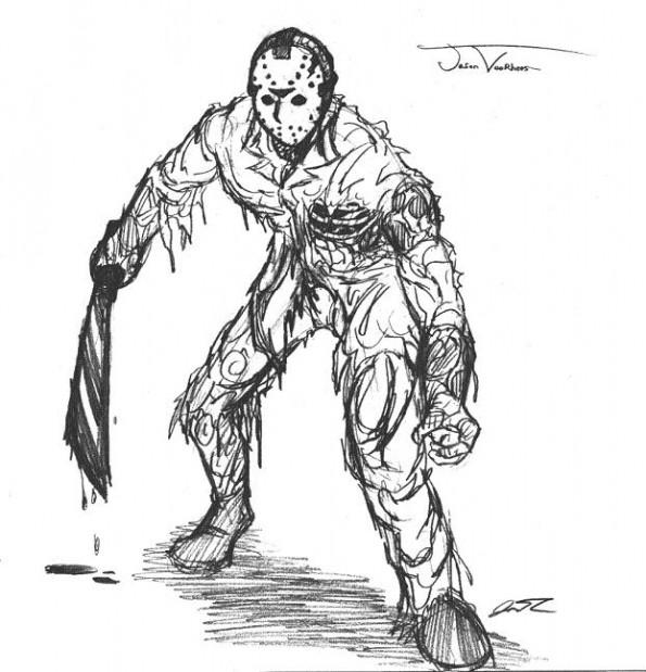 Jason Drawing contest