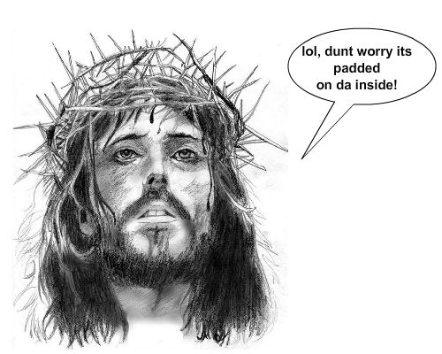 What'd Jesus say as he gotcrucified