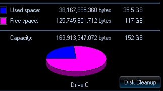 How large is your Harddrive?