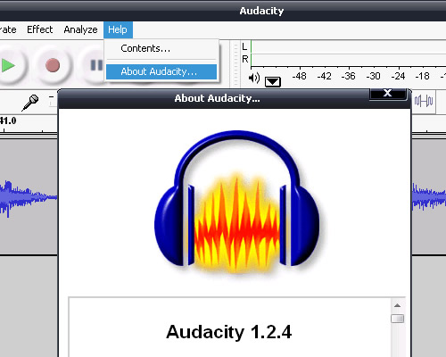 Recording audio from youtube.
