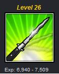 wtf's up with Lv26's weapon?