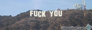 Make your own Hollywood sign!