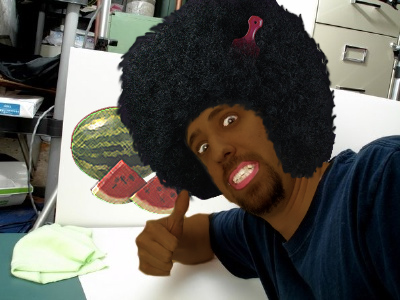 Photoshop Wade's dumb face!