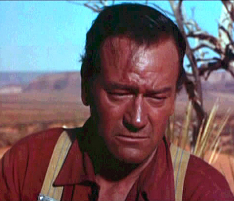 John Wayne is a racist.