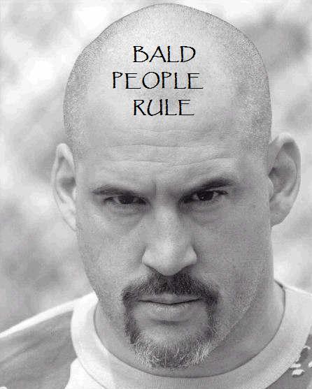 Bald jokes
